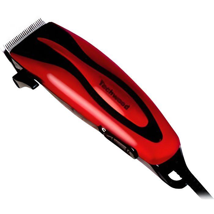TECHWOOD - Tondeuse à cheveux rouge - TT-615