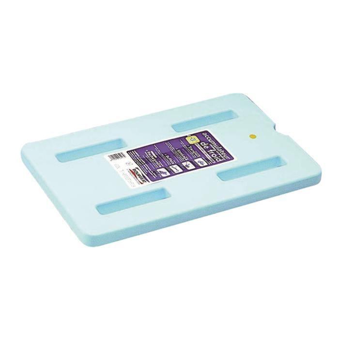 Plaque eutectique professionnel 325 x 176 x 30 mm. T° jusqu'à -12°C