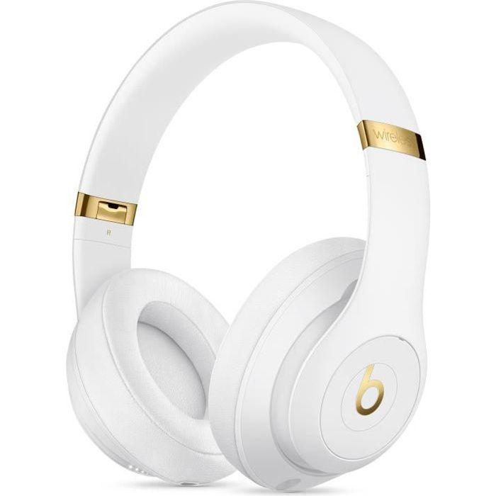 CASQUE - ÉCOUTEURS BEATS STUDIO3 Casque Bluetooth - White