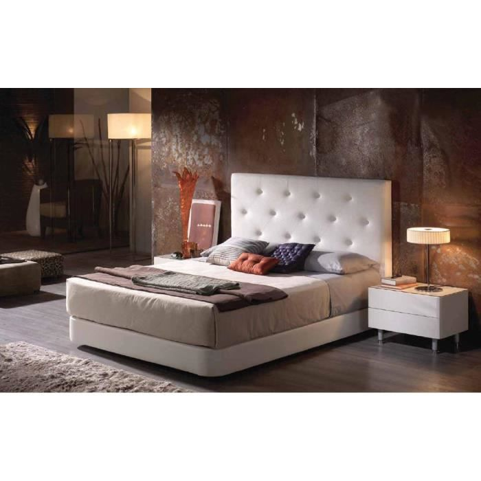 t tes de lit pu mod le lille argent achat vente t te de lit cdiscount. Black Bedroom Furniture Sets. Home Design Ideas