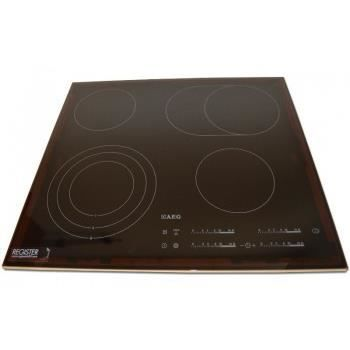 Plaque induction 62cm 4 foyers aeg hk654070fb achat for Plaque induction avec booster