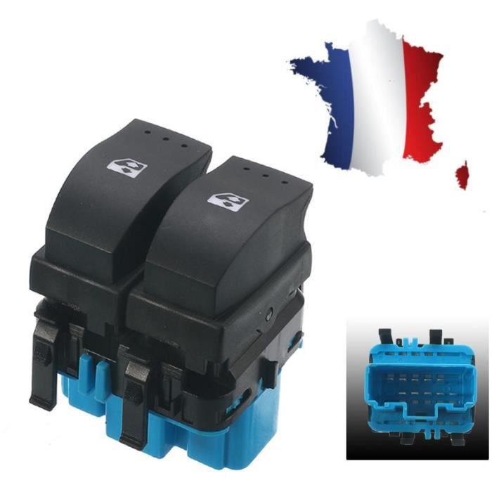 2x Interrupteur Commutateur Bouton Leve Vitre Gauche côté conducteur  Pr Renault