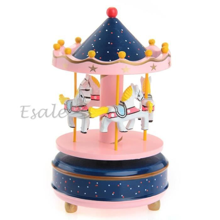 bo te musique musicale carrousel jouet b b enfant. Black Bedroom Furniture Sets. Home Design Ideas
