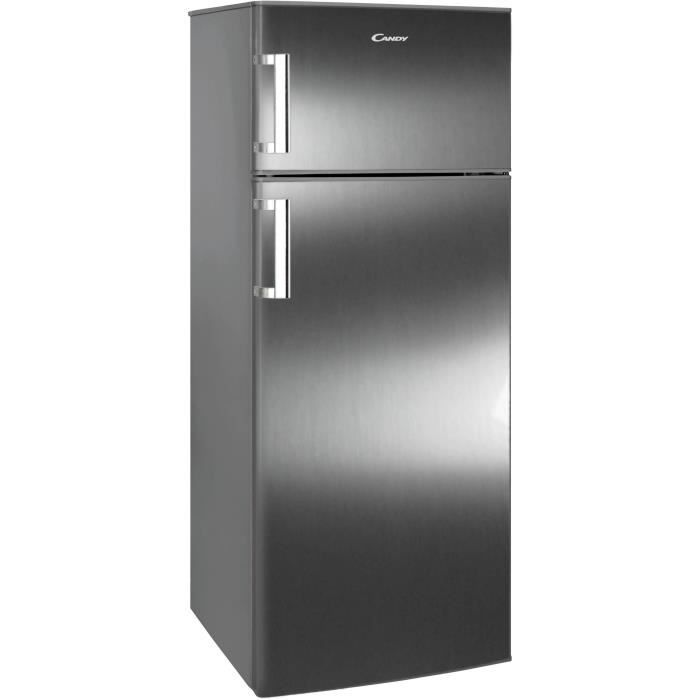 refrigerateur 2 portes candy ccds6172fxh achat vente r frig rateur classique refrigerateur 2. Black Bedroom Furniture Sets. Home Design Ideas