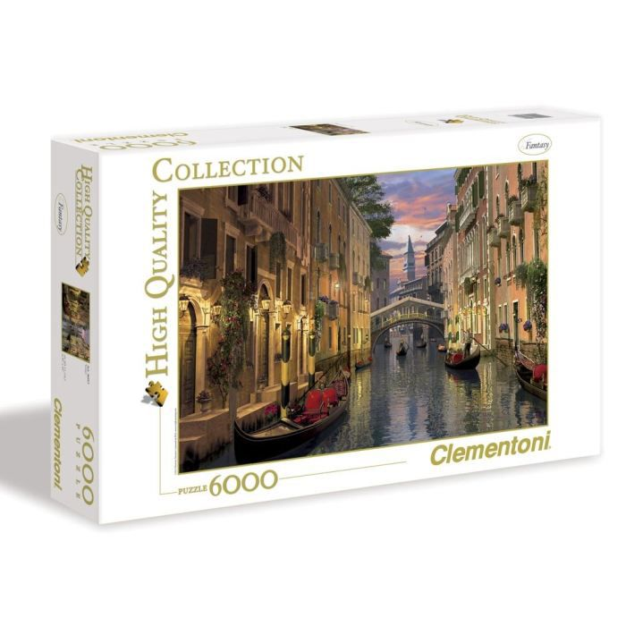 puzzle venice 6000 pi ces achat vente puzzle cdiscount. Black Bedroom Furniture Sets. Home Design Ideas