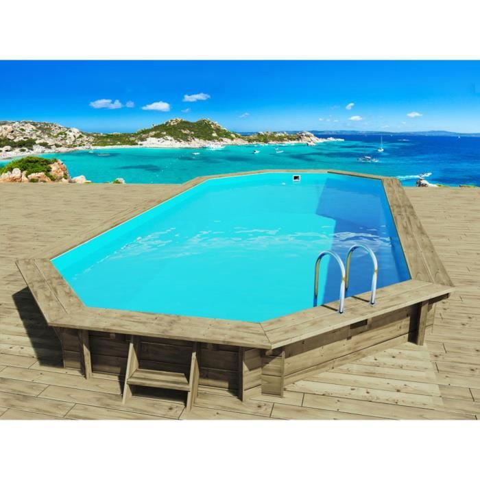 Piscine bois 8 m for Piscine bois enterrable