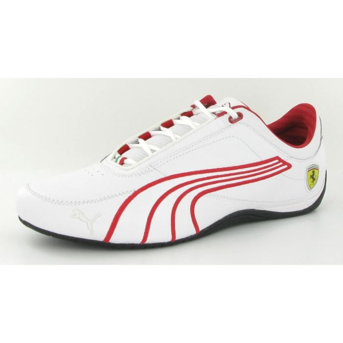 chaussures puma drift cat 4 ferrari homme blanc achat vente drift cat 4 ferrari homme pas. Black Bedroom Furniture Sets. Home Design Ideas