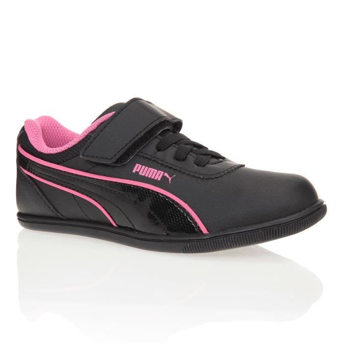 chaussure puma rose enfant fille
