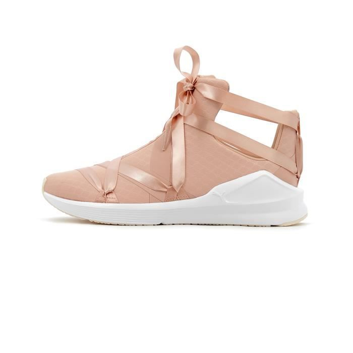 Rope Beige Ep Montantes Satin Chaussures Fierce Femme Puma PkOZXuTi