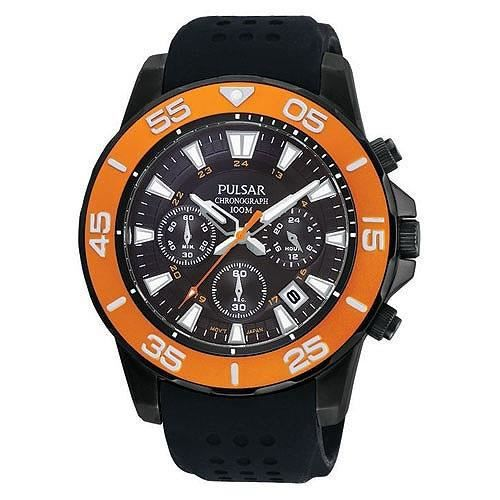 pulsar mens montre chronographe pt3147 achat vente montre cdiscount. Black Bedroom Furniture Sets. Home Design Ideas