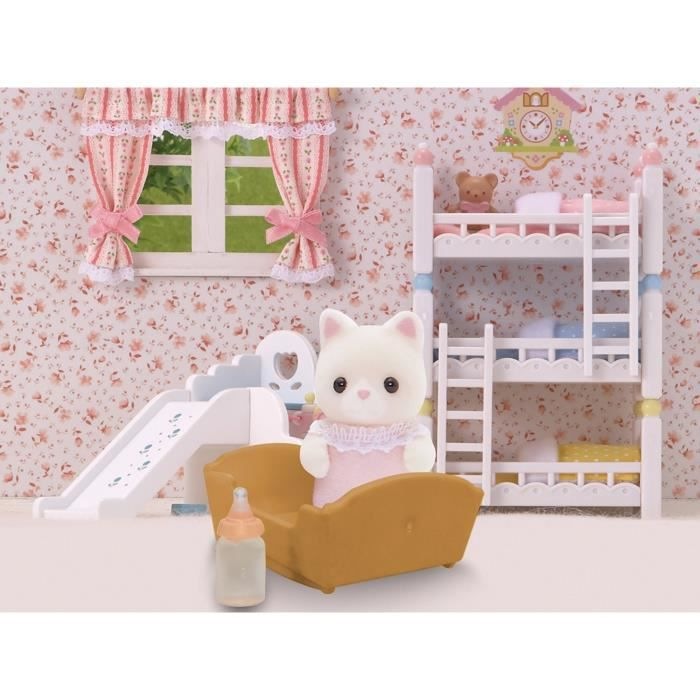 sylvanian families 3417 b b chat persan sy achat vente peluche b b chat persan. Black Bedroom Furniture Sets. Home Design Ideas