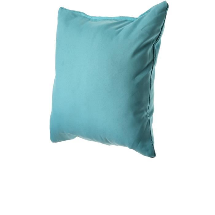 coussin turquoise bleu achat vente coussin cdiscount. Black Bedroom Furniture Sets. Home Design Ideas