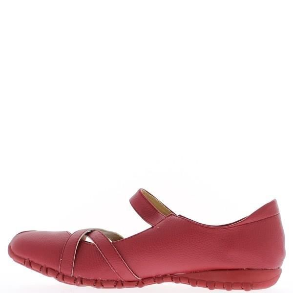 Ballerines rouges confortables