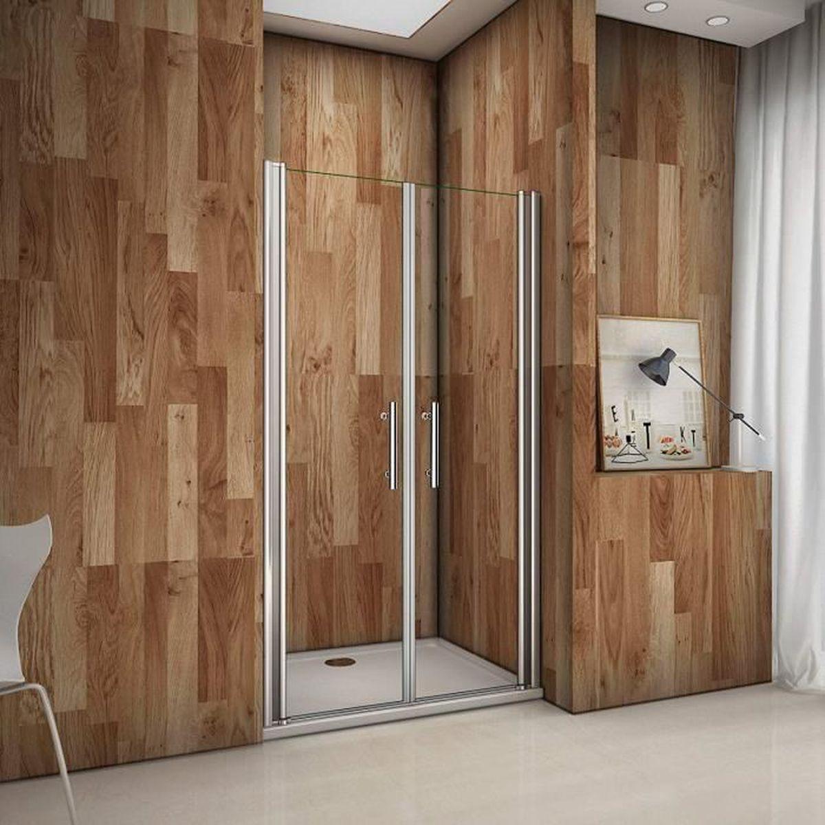 porte de douche pivotante 90x195 cm