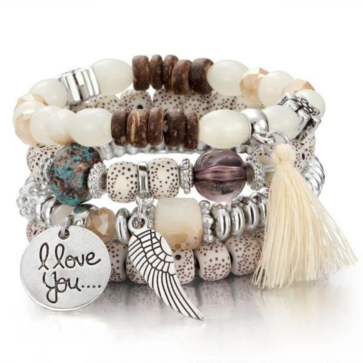 500 noir rond en bois perles 6mm x 5mm idéal pour faire des bracelets