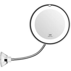Style Hollywood Avec Lampes LED 12cm x10 Simplehuman Miroir USB Grossissant