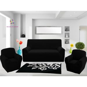 housses canape 3 places et 2 fauteuils achat vente housses canape 3 places et 2 fauteuils. Black Bedroom Furniture Sets. Home Design Ideas