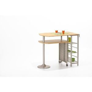 Table bar de cuisine twin set achat vente table de - Table bar cuisine castorama ...