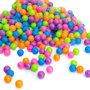 PISCINE À BALLES LittleTom 50 Boules de couleur Ø 5,5 cm pour pisci
