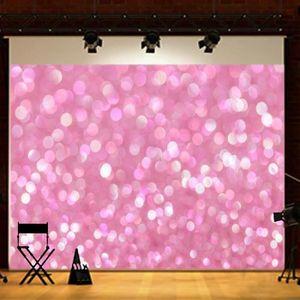 FOND DE STUDIO Toile de Fond Backdrop Tissu 2.1x1.5m Etoiles Rose