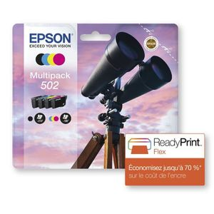CARTOUCHE IMPRIMANTE EPSON Multipack cartouches Jumelles - NCMJ 502