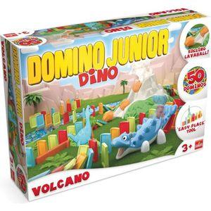 DOMINOS Goliath - Domino Express Junior Volcano - Jeu de c