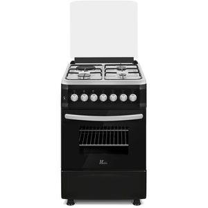 CUISINIÈRE - PIANO HUDSON HCGE-5055N-Cuisinière gaz 4 zones-Allumage