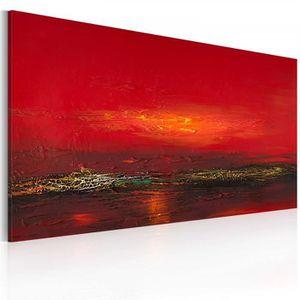 TABLEAU - TOILE mesure 120x60 contemporain Tableau peint a la main