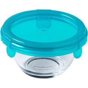 BOITES DE CONSERVATION PYREX - BABY PLUS - Plat rond en verre avec couver