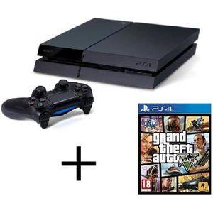 CONSOLE PS4 Console PS4 - 500 Go + Jeu GTA 5