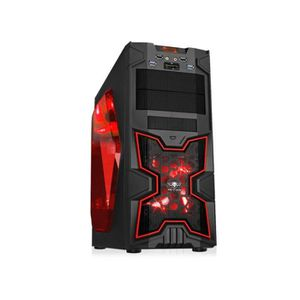 BOITIER PC  Spirit of Gamer Boîtier PC X-FIGHTERS 41 Red Victo