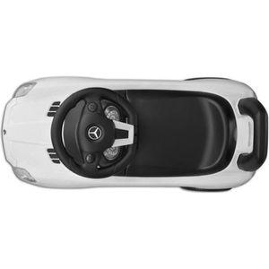 VOITURE ELECTRIQUE ENFANT Blanc Voiture de style Mercedes Benz Pousse-pied p
