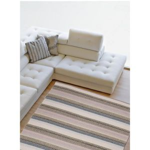 tapis salon coton achat vente tapis salon coton pas cher cdiscount. Black Bedroom Furniture Sets. Home Design Ideas