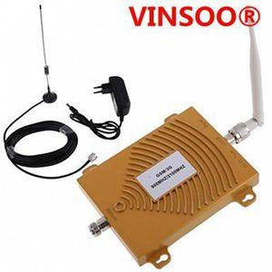 AMPLIFICATEUR DE SIGNAL VINSOO®nouveau gsm wcdma 900 / 2100MHz kit d'anten