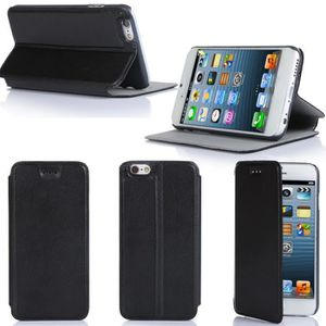 HOUSSE - ÉTUI Etui coque Apple iPhone 6 Plus 5.5 noir Housse