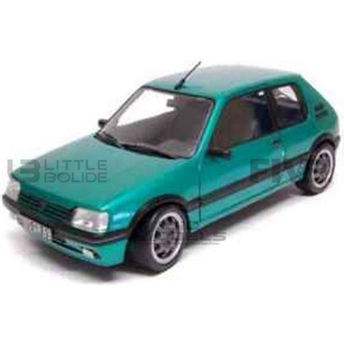 Voiture Miniature de Collection - NOREV 1/64 - PEUGEOT 205 GTI - 1990 - Green - 310517
