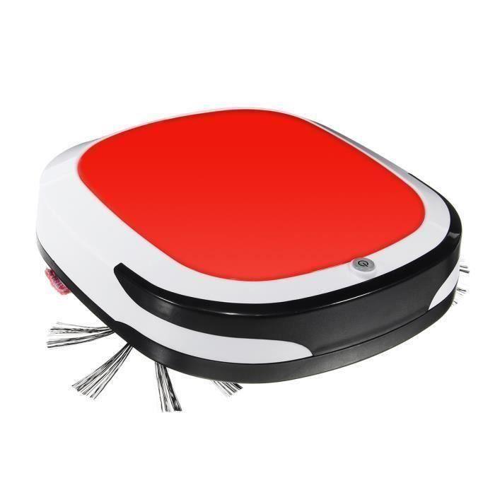 Robot Aspirateur Intelligent 4 En 1 Balayage-Glisser-Aspiration- Essuyer Tension Standard Européenne Rouge Ro55797