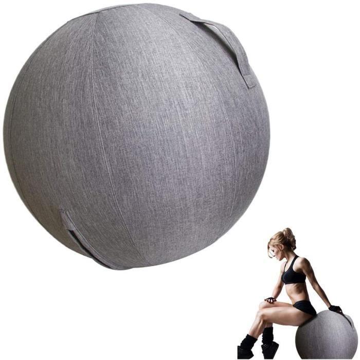 GYM BALL SI Ballon dexercice Balle De Gymnastique Ball Yoga AntiBurst 65Cm Extra Eacutepais Swiss Ball Fitness Grossesse Accouch74