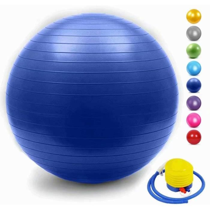 UI Gym Ball AntiBurst Ball Suisse Ballon De Yoga Ballon De Fitness avec Pompe Agrave La Main Home Gym Bureau Utilisation pour La470