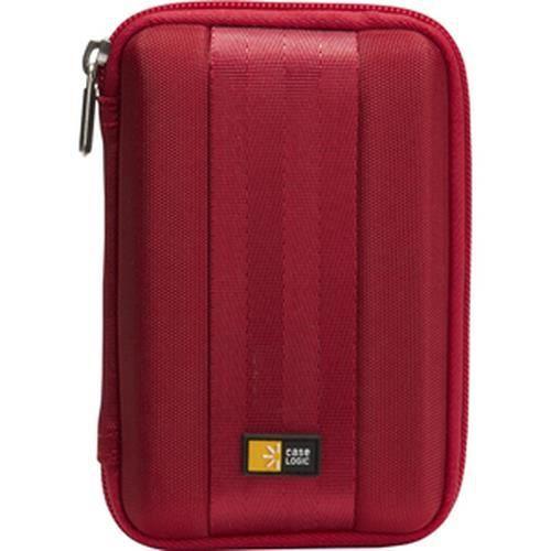 Case Logic QHDC-101 , EVA (Acétate de vinyle d'éthylène), Rouge, 9,5 x 4,1 x 14,6 mm