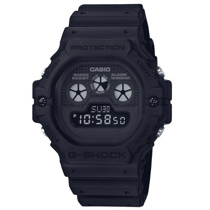 G SHOCK Montre DW-5900BB 1ER Résistance aux chocs chrono