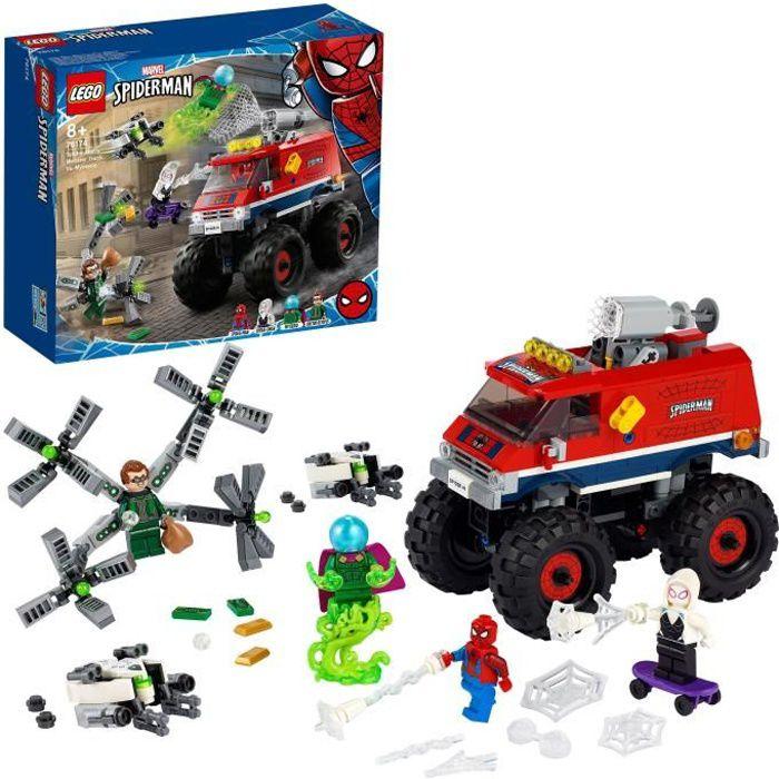 LEGO® Marvel 76174 Le camion monstre de Spider-Man contre Mystério, avec figurines de Spider-Man, Docteur Octopus et Spider-Gwen
