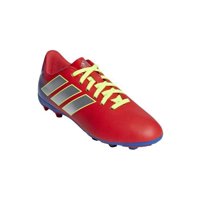 ADIDAS NEMEZIZ MESSI Chaussures de foot -19.4 FXG JR - BLEU