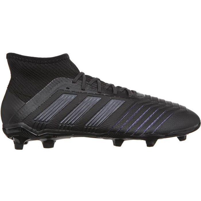 ADIDAS PERFORMANCE Chaussures de Football Predator 19.2 J FG - Enfant - Noir