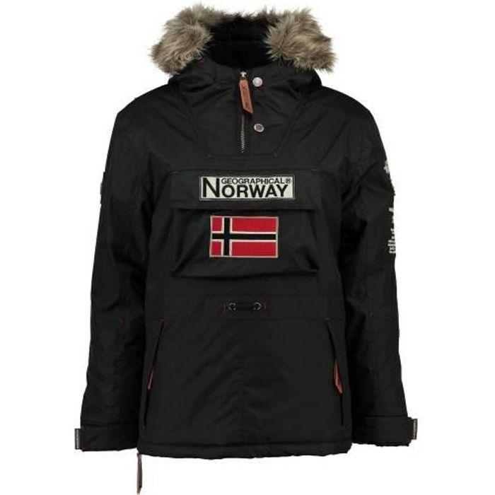 Parka Enfant Geographical Norway Barman Noir