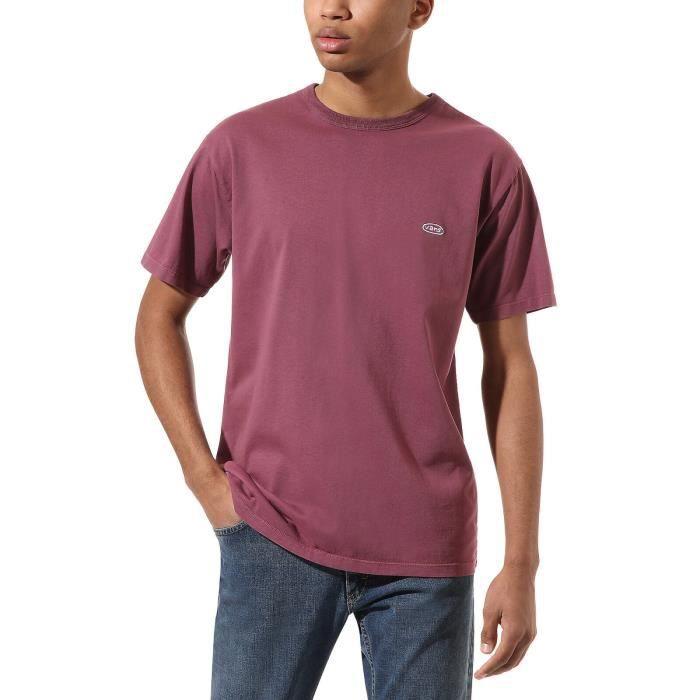 Vans T-Shirt pour Homme Off The Wall Color Multiplier Rose VN0A4S2AZR1