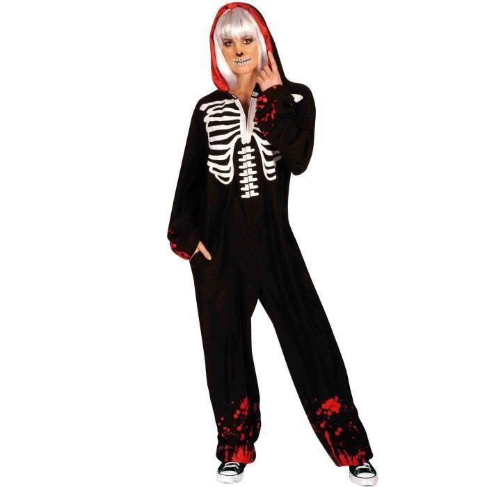 RUBIE'S. Déguisement de Squelette Ensanglanté pour adulte. Adulte.