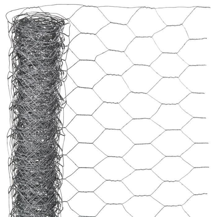 NATURE Maille hexagonale 1x2,50m