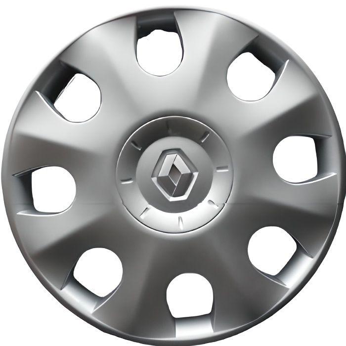 Enjoliveurs de roues pour RENAULT modus 3 15 Neuf Kit de 4 pièces.