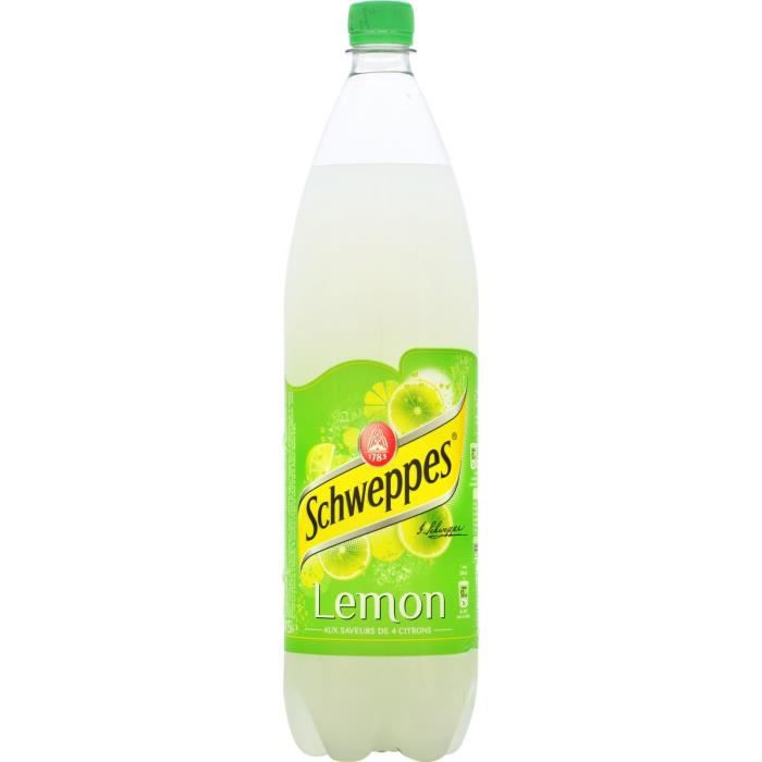 SCHWEPPES LEMON PET 1.50L